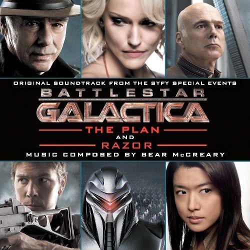 Battlestar Galactica: The Plan / Razor [Original Soundtrack] [CD]