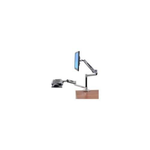 Ergotron WorkFit-LX Desk Mount for Flat Panel Display, Keyboard, Mouse