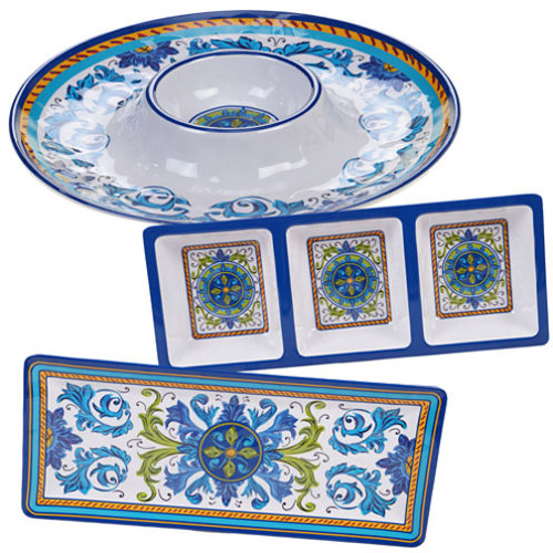 Certified International Lucca 3-pc. Serving Set