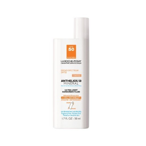 La Roche-Posay Anthelios Mineral Sunscreen SPF 50, 1.7 Fl. Oz. [Mineral Sunscreen Tinted SPF 50]