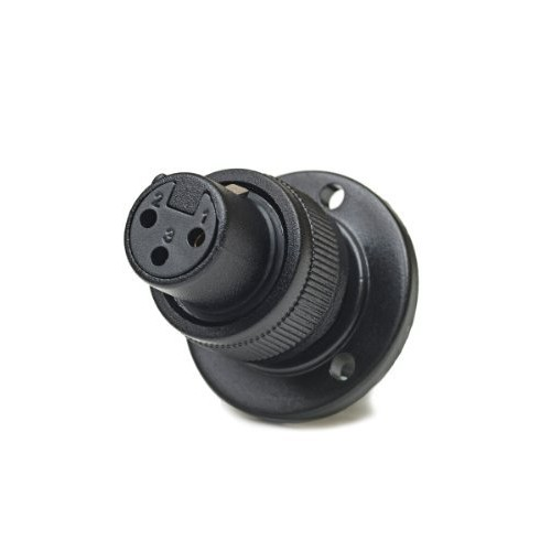 CAD Audio FM-2A XLR-F Connecter On 1 3/4-Inch Diameter Mounting Flange with Locking Ring