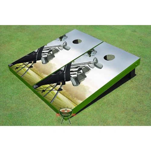 All American Tailgate Golf Bag Cornhole Board (Set of 2)