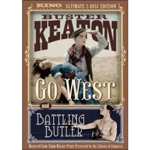 Battling Butler/Go West [2 Discs] [DVD]