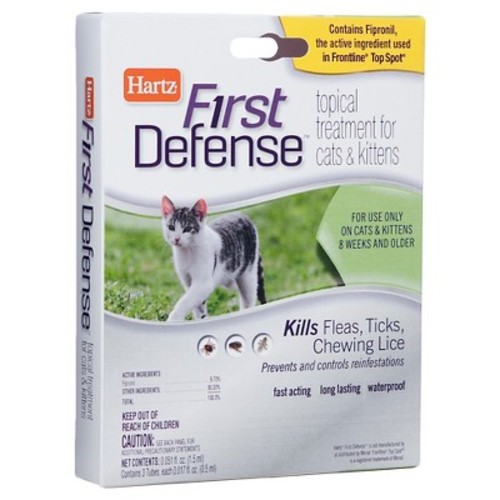 Hartz Flea & Tick First Defense Topical Treatment - Cats & Kittens