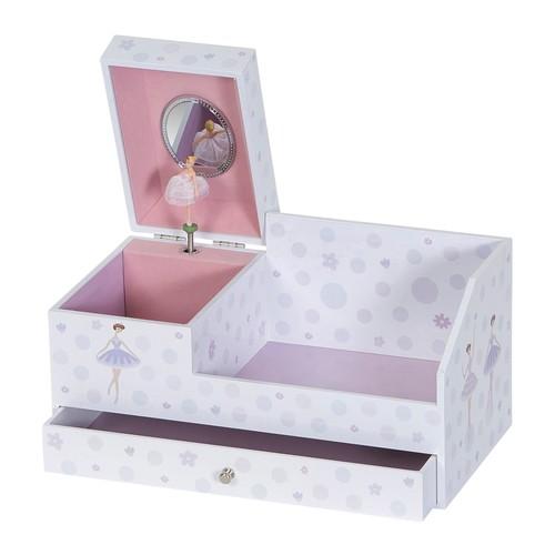 Mele \u0026 Co. Bethany Girl's Musical Ballerina Jewelry Box