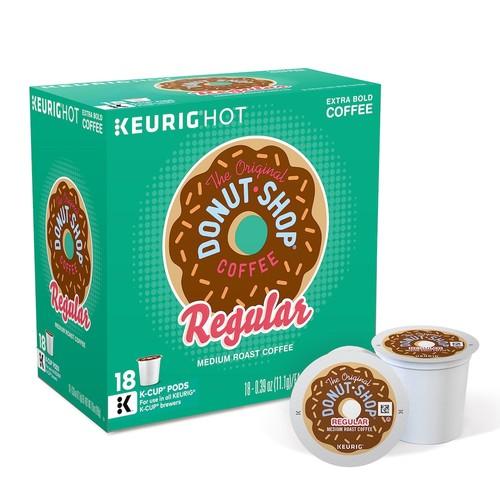Keurig K-Cup Pod The Original Donut Shop Coffee - 108-pk.