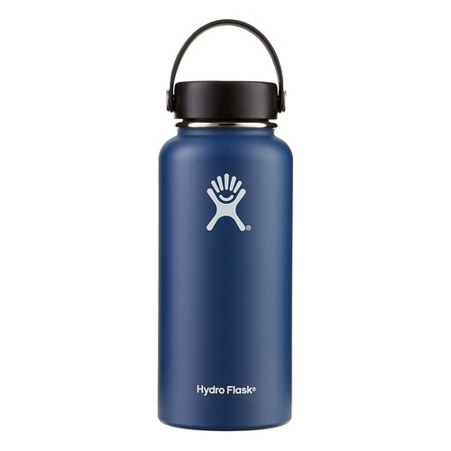 32 oz. Wide Mouth Hydro Flask Cobalt