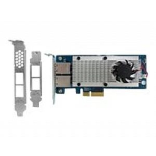 QNAP Dual-Port 10GBase-T Network Expansion Card - For Rackmount and Tower Models - LAN-10G2T-X550