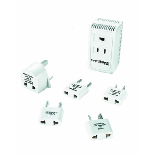 Travel Smart by Conair Converter and Worldwide Adapter Set; US Europe UK Italy Spain China