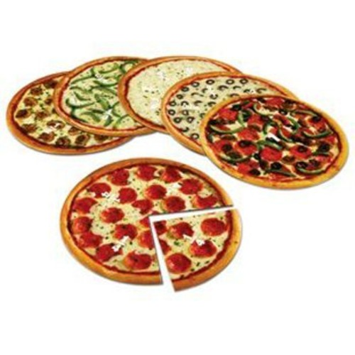 5 Pack LEARNING RESOURCES MAGNETIC PIZZA FRACTION SET