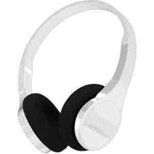 Hype Ultra Slim Stereo Bluetooth Headphones with Mic - White