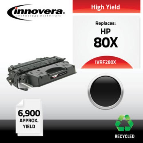 Innovera Remanufactured HP 280X High-Yield Black Toner Cartridge