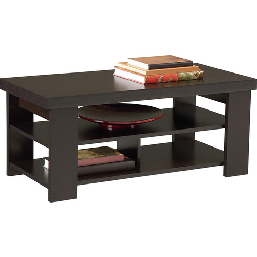 Altra Furniture Hollowcore Coffee Table, Black Forest
