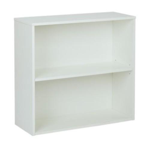 Pro-Line II Prado 31.5'' 2-Shelf Bookcase, White (PRD3230-WH)