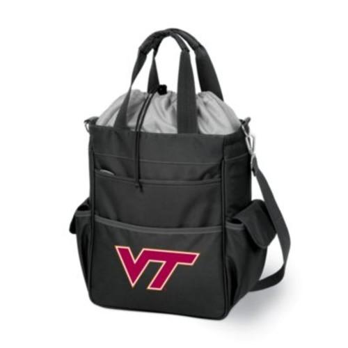 Picnic Time Virginia Tech Collegiate Activo Tote in Black
