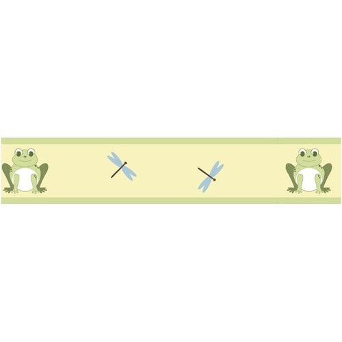 Sweet Jojo Designs Leap Frog Collection Wall Paper Border