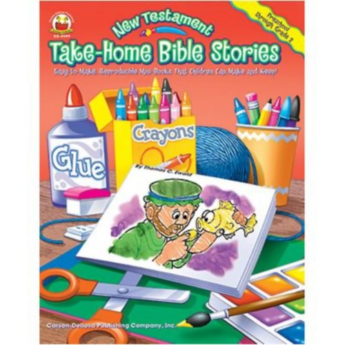 Testament Take-Home Bible Stories Mini-Books That Children Can Make and Keep