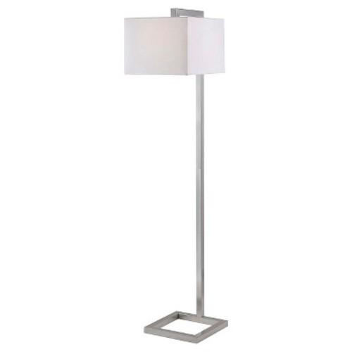Kenroy Home Floor Lamp - Brushed Steel