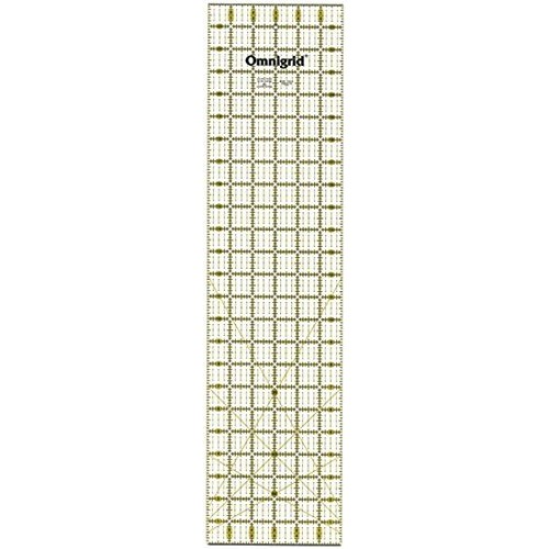 Omnigrid 6-Inch-by-24-Inch Quilter's Ruler