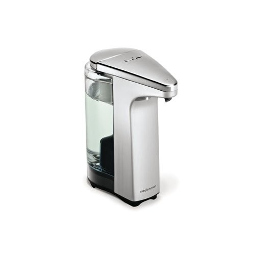simplehuman 8 oz. Sensor Pump with Soap Sample, Brushed Nickel [Brushed Nickel]