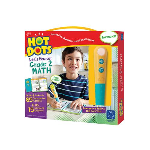 Hot Dots Lets Master Grade-2 Math by Educational Insights