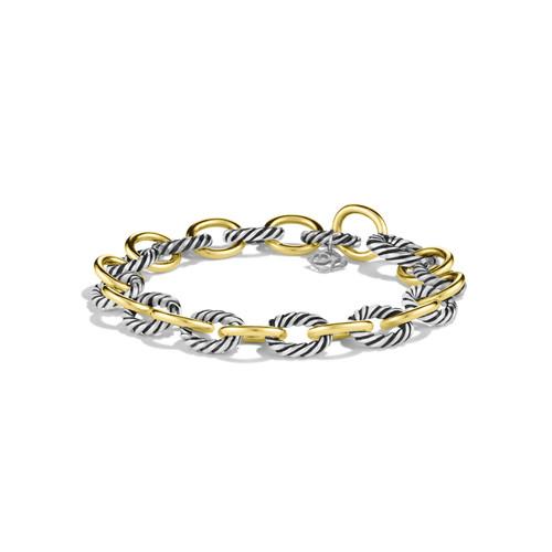 Oval Link Bracelet with G