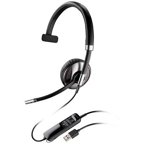 Plantronics Blackwire C710 Wired Headset - Retail Packaging - Black