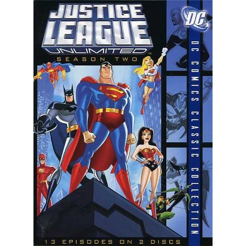 Justice League Unlimited: The Complete Second Season ( (DVD))