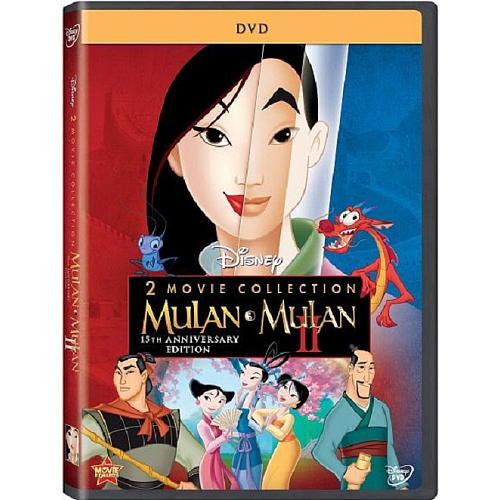 Mulan Movie Collection 2-Disc DVD