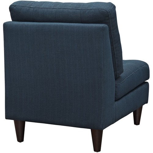 Modway Grey Off-White Tufted Upholstered Empress Side Chair [option : Azure]