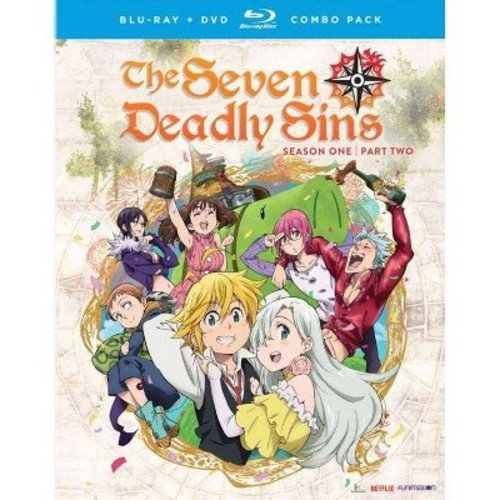 Seven Deadly Sins: Season One - Part Two [Blu-Ray] [DVD] [Combo Pack]