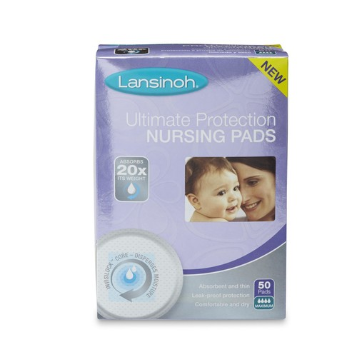 Lansinoh 50-Count Ultimate Protection Disposable Nursing Pads