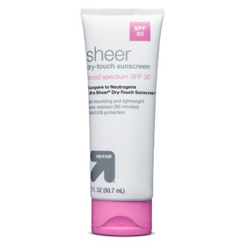 Ultra Sheer Sunscreen Lotion SPF 30 3 oz - up & up