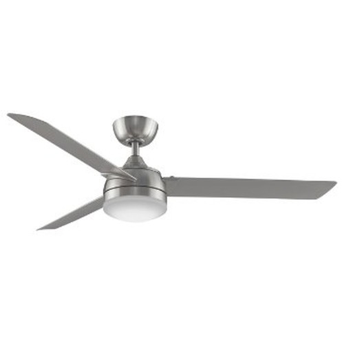 Xeno Outdoor Ceiling Fan [Fan Blade and Body Finish : Brushed Nickel]