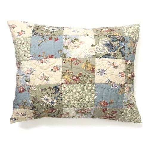 Cottage Home Pillowcases & Shams Ninia Patchwork Sham