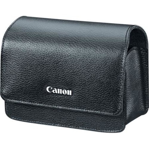 Canon PSC-5400 Deluxe Leather Case for Powershot G9-X Camera w/Belt Clip - Black 1282C001
