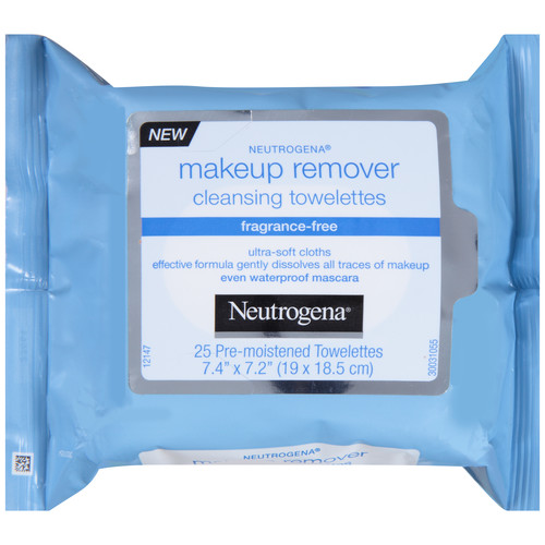 Neutrogena Cleansing Toweletts Fragrance-Free Makeup Remover 25 CT