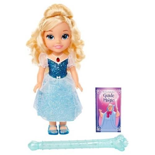Disney Princess Cinderella Doll with Magical Wand - Blonde