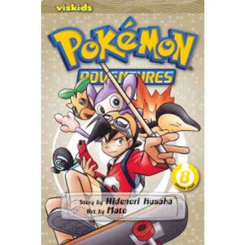 Pokemon Adventures, Volume 8