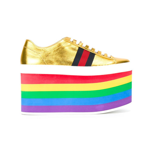 GUCCI Low-Top Platform Sneakers