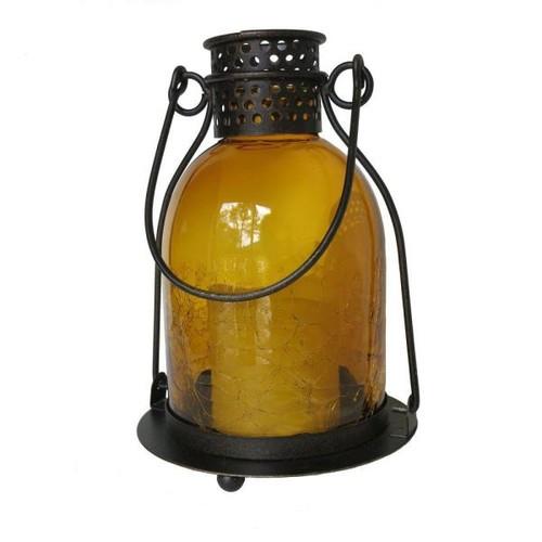Smart Design Monaco Glass LED Candle Lantern