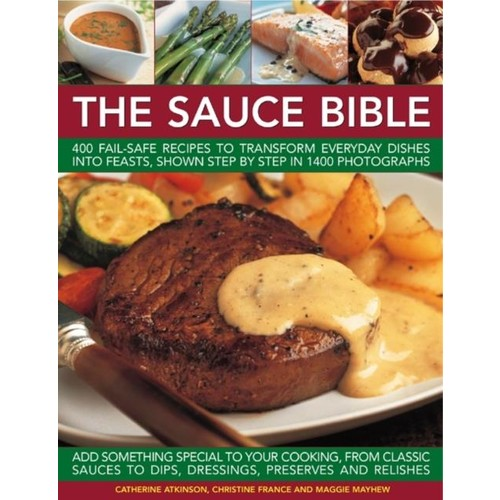 Natl Book Network The Sauce Book