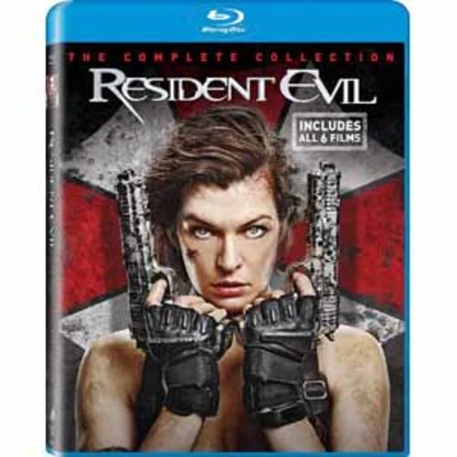 Resident Evil/ Resident Evil: Afterlife/ Resident Evil: Apocalpyse [Blu-Ray]