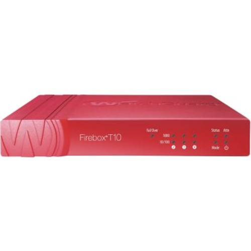 WatchGuard Firebox T10 Network Security/Firewall Appliance With 3 Year Live Security