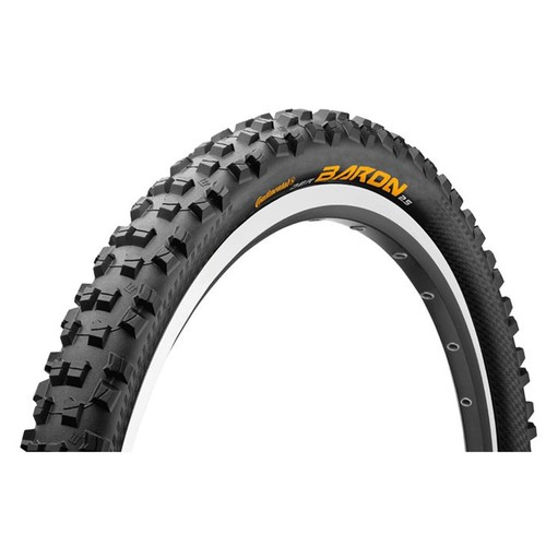 Continental Der Baron Projekt ProTection Apex + BlackChili Mountain Bike Tire- 27.5x2.4, Folding