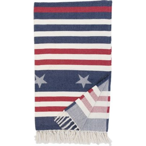 C&F Design Stars And Stripes Throw