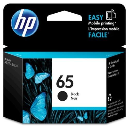 HP 65 Single Ink Cartridge - Black (N9K02AN_14)