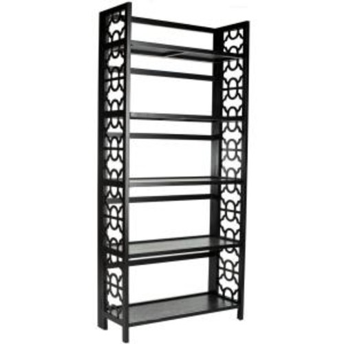 Safavieh Natalie Black Open Bookcase