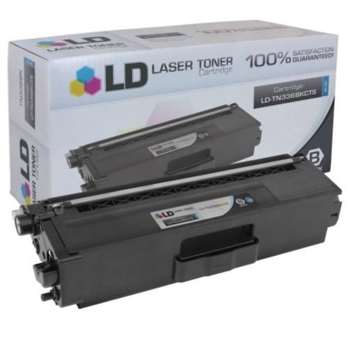 LD Compatible Brother TN336 High Yield Laser Toner Cartridge:TN336BK, TN336C, TN336M, and TN336Y