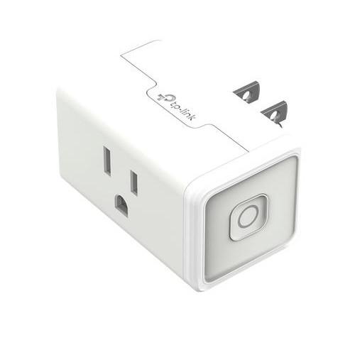 TP-LINK - Smart Wi-Fi Plug Mini - White